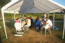 Unser letztes Zeltlagerfrühstück