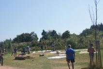 Unser Zeltplatz - ohne Zelte